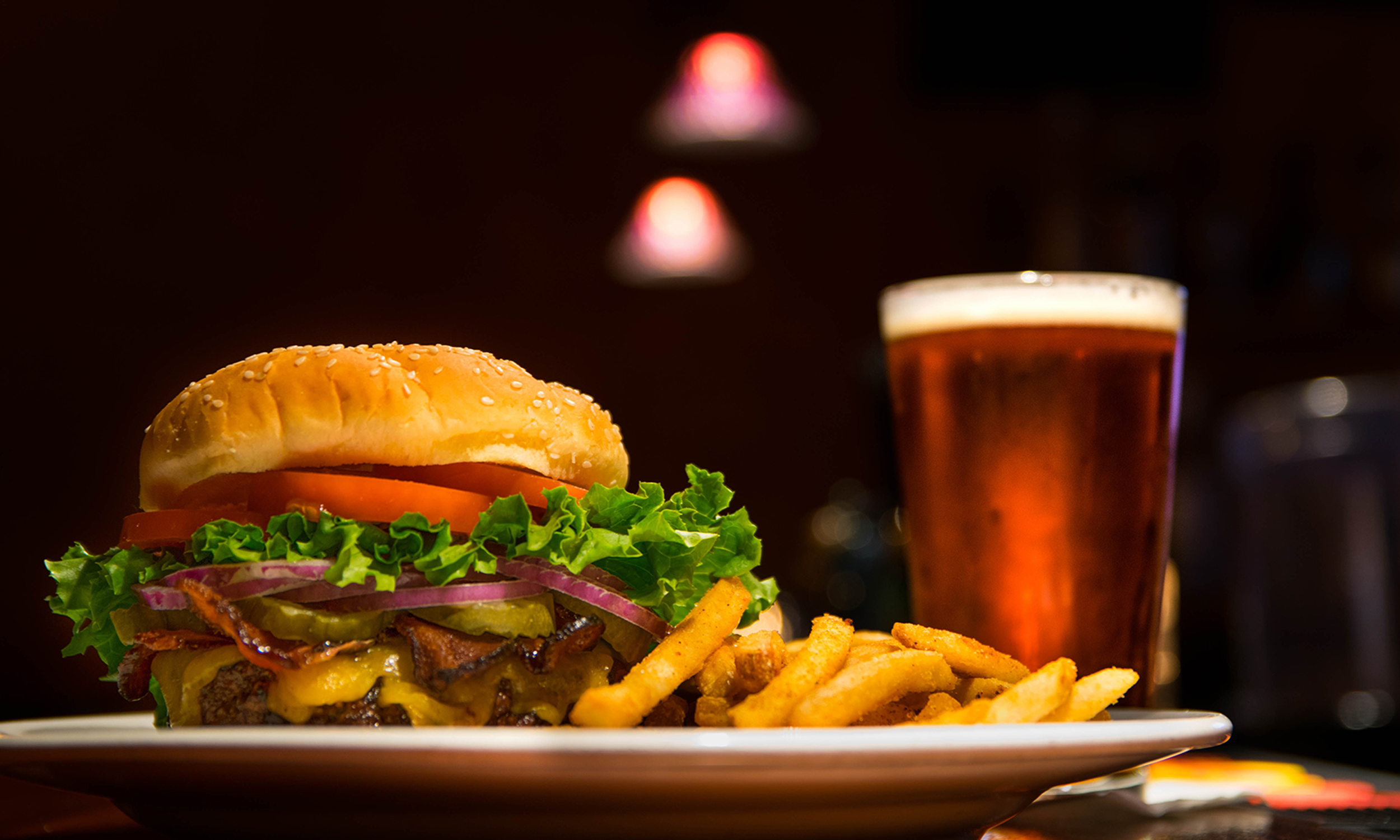 Beer and Burger image